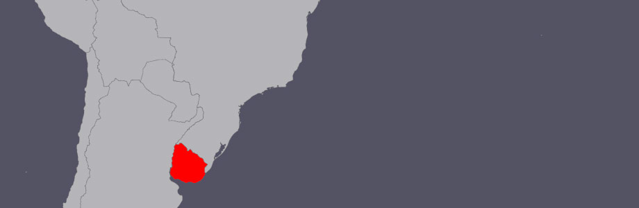 mapa-uruguai